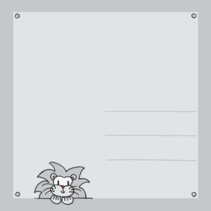 Achterkant ansichtkaart